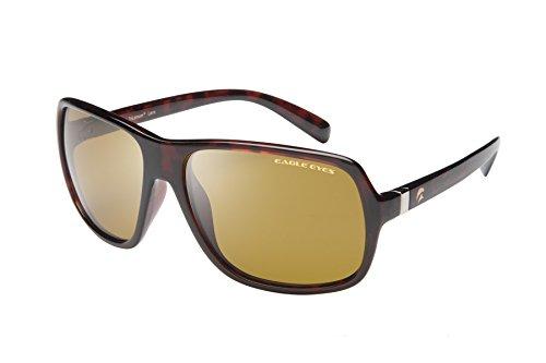 Eagle Eyes Cabriolet Polarized Sunglasses - Tortoise Champion Style - Sunglasses 160mm