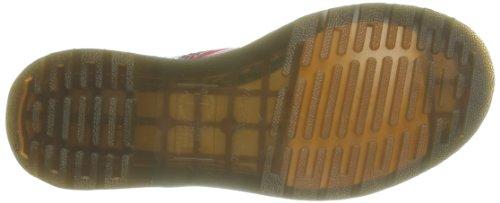 Dr. Martens Dai Smooth Tartan Leather Damen Stiefel & Stiefeletten Rot - Rouge (Black/Red Stewart)