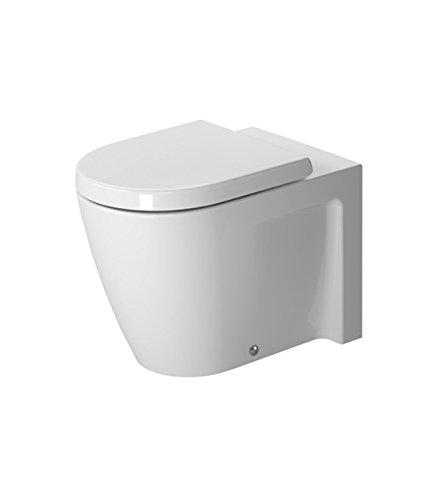 Floor 1 Starck - Starck 2 Floor Standing Back to Wall Round 1 Piece Toilet