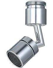 صنبور فلتر لرشاش عالمي 720 درجة زاوية كبيرة Aerator صنبور المطبخ صنبور توفير المياه فوهة حوض حمام لإطالة موسع