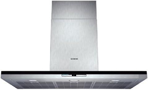 Siemens LC91BE552 Campana extractora de pared, 9 W, Acero inoxidable, 5 Velocidades: 466.49: Amazon.es: Grandes electrodomésticos