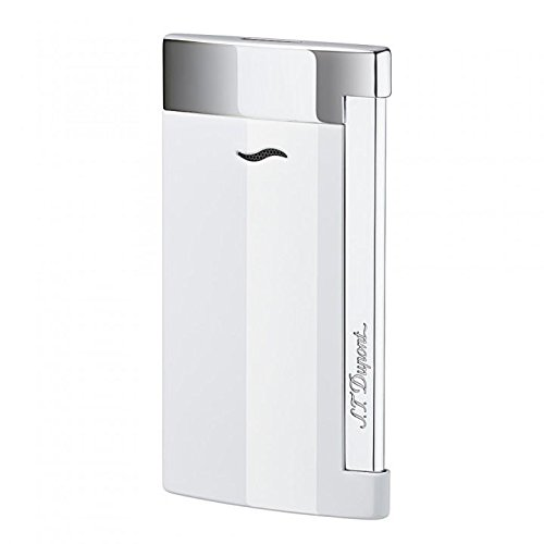 st-dupont-slim-7-lighter-white-lacquer-chrome
