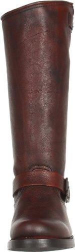 Burnt Red Slouch Veronica Vintage Tumbled Women's Boot Full Grain Frye IZqXTwRn