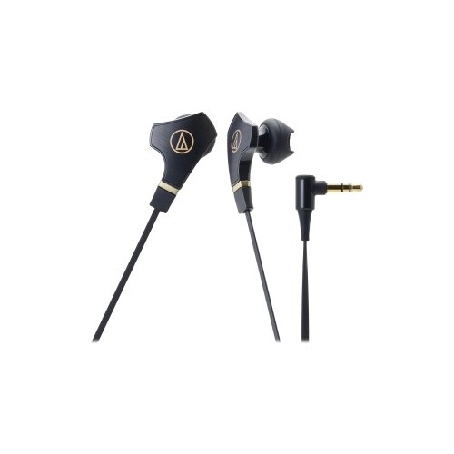 AUDIO TECHNICA SONIC FUEL IN-EAR EAR BUD BLK 3.5MM 1.2M 14.3MM DRIVER / ATH-CHX7BK /