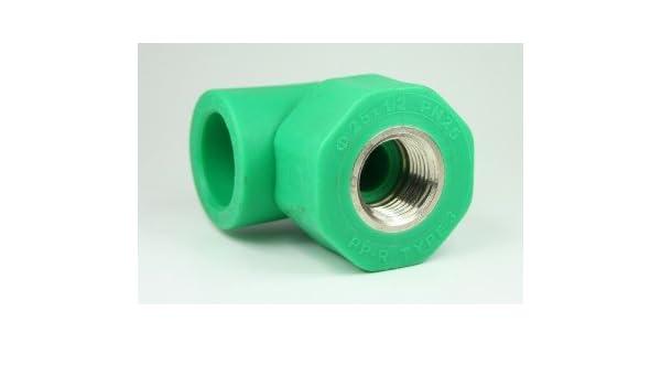 PPR Aqua de Plus - Racor en T para tubos de 25 mm y rosca interior ...