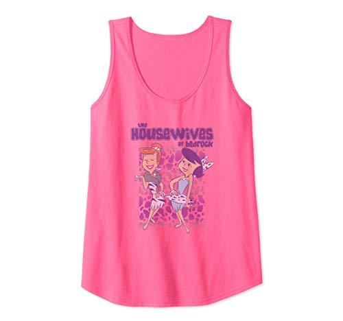Womens The Flintstones Housewives Tank Top