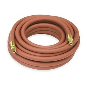 Air Hose, 1/2 IDx25Ft, 1/2x1/2 NPT, 300 PSI by Reelcraft by Reelcraft