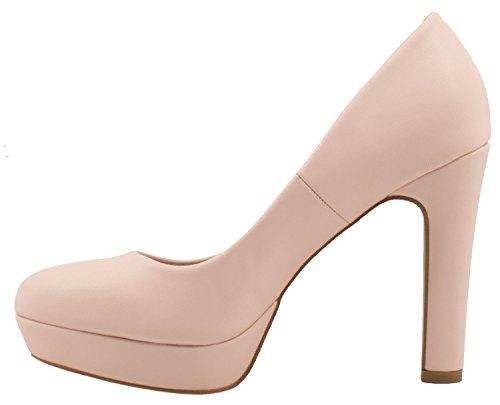 Elara E Pink Con Moderna Donna Tacco Plateau Alto Scarpe aqBqcrRgZ
