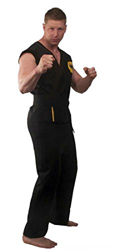 The Karate Kid DELUXE Cobra Kai Mens Replica Gi Costume (X-Large) (Karate Kid Costume)