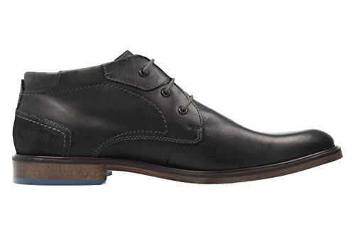 FRETZ men Herren Business Stiefeletten - Oskar - Schwarz Schuhe in Übergrößen