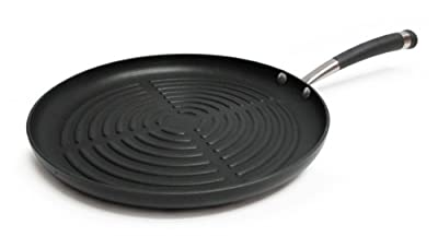 Circulon Contempo Hard Anodized Nonstick 12-Inch Round Grill Pan