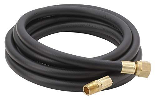 - Bayou Classic 7908, 8-Ft. High Pressure LPG Hose, 1/4