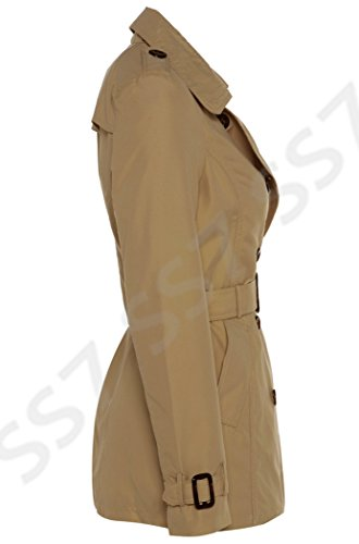 Trench Tela Ss7 Donna Da Impermeabile In Camel q05wxSPXw