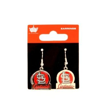 St. Louis Cardinals Dangle Earrings - Bar Style