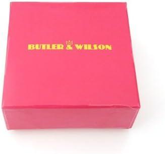 Butler and Wilson Black Diamond Bow Brooch