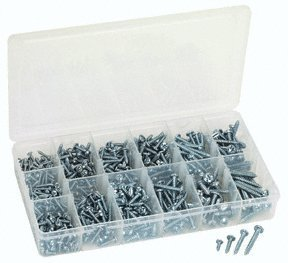 Assortment Metal (550 Piece Sheet Metal Screw Assortment)