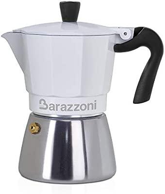 Barazzoni Moka - Cafetera híbrida 3 TZ, apta para placas de ...