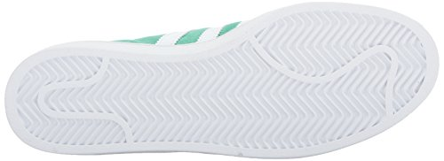 adidas Originals Men's Campus Sneakers -, Green Glow Crystal White, (11 M US) by adidas Originals (Image #3)