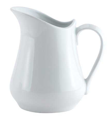 HIC Harold Import Co. NT305/2 Harold Import Co. Porcelain Creamer Pitcher, 4 Ounce, -