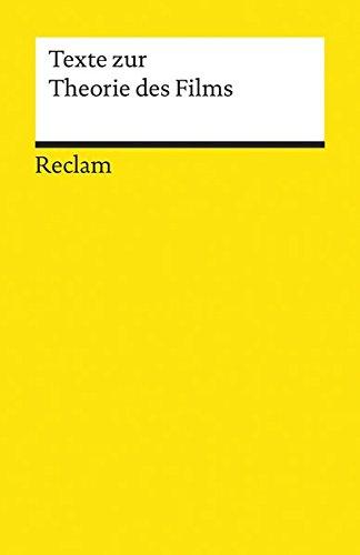 Texte zur Theorie des Films (Reclams Universal-Bibliothek)