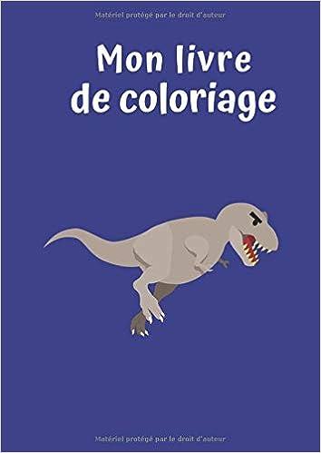 Mon Livre De Coloriage Dinosaure No 3 30 Pages Blanc