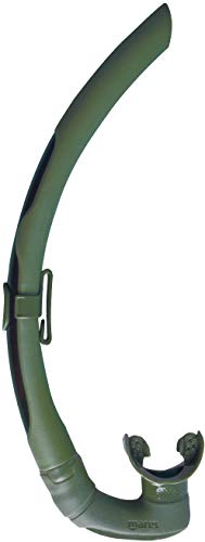 (Mares Dual Snorkel for Spearfishing and Freediving,)