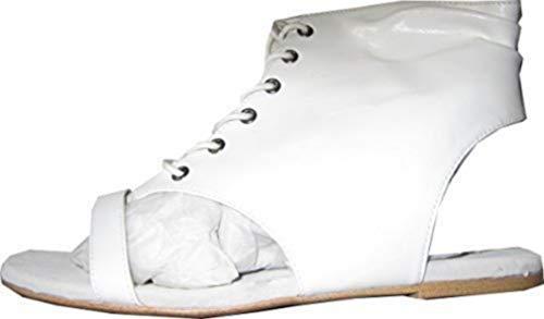 En De Blanc Chillany Cuir Sandalette UH8dqU