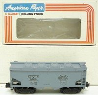 Car Hopper Gauge - American Flyer 9206 New York Central Covered Hopper Car S Gauge