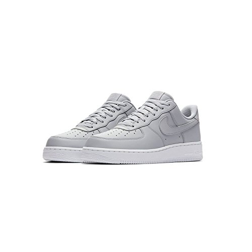 Nike Air Force 1 07, Sneaker Uomo wolf grey-wolf grey-white (AA4083-010)