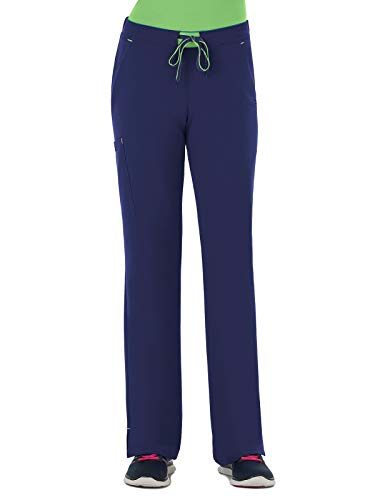 (Modern Fit Collection by Jockey Women's Convertible Drawstring Scrub Pant X-Large Tall New)