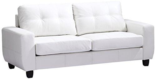 Glory Furniture G207A-S Living Room Sofa, White