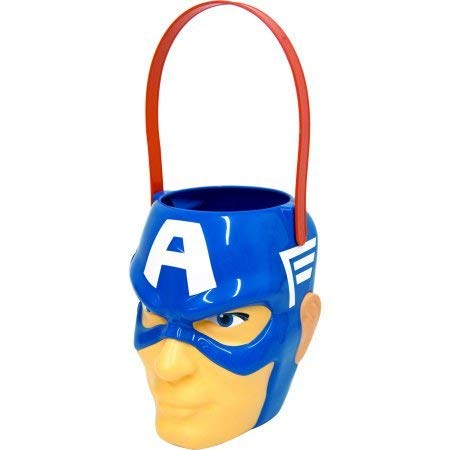 Marvel - Captain America - Figural Plastic Bucket - Children Candy & Popcorn -