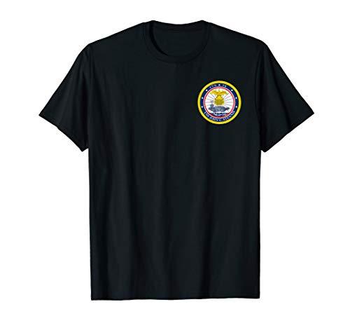 - USS John C. Stennis Navy Aircraft Carrier Morale T-Shirt