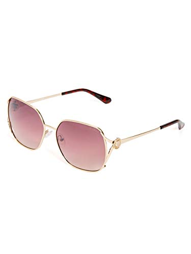 Guess Gold Sunglasses - GUESS Factory Metal Logo Sunglasses