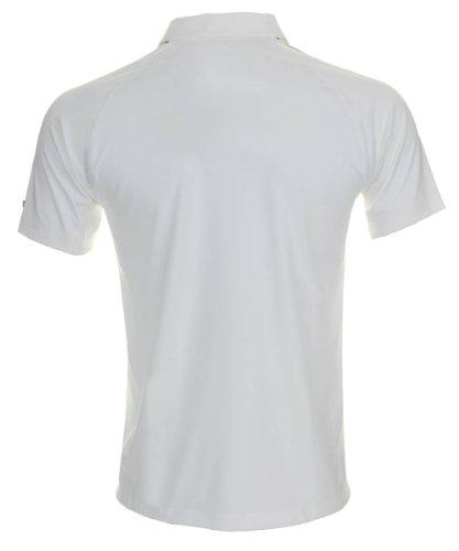 Puma Lux ZL Tech Polo-shirt white bianco s