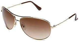 Ray-Ban RB3293 Aviator Metal Sunglasses, Gold/Brown Gradient, 63 mm (B001GNBJXM) | Amazon price tracker / tracking, Amazon price history charts, Amazon price watches, Amazon price drop alerts