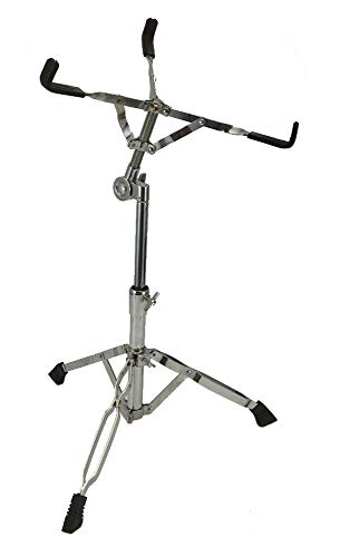 (NEW SNARE DRUM STAND - CHROME - PERCUSSION Drummer Gear)