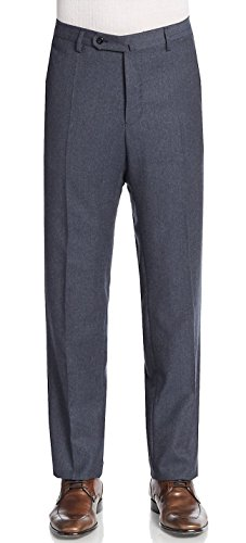 Incotex Bill Wool/Cashmere Regular Fit Medium Blue Trousers Size 38 (Wool Trousers Cashmere)