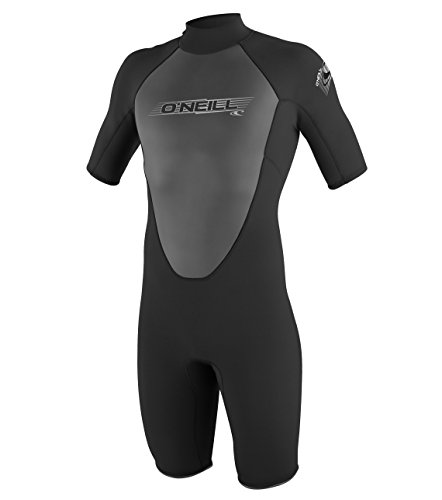 O'Neill Wetsuits Herren Neoprenanzug Reactor 2 mm Spring Wetsuit, Black, L, 3799-A05