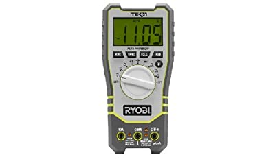 Ryobi Tek4 Professional Digital Multimeter