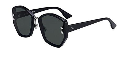 - Authentic Christian Dior Dioraddict 2 807/O7 Black Sunglasses