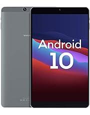 Android 10, 8-inch Android Tablet, Vastking Kingpad SA8 Octa-Core Processor, 3GB RAM, 32GB Storage, 1920x1200 IPS, 5G Wi-Fi, GPS, 13MP Camera, Blue Light Filter Screen (Silver Grey)