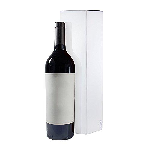 (Wine and Liquor White Gift Box - 6 Pack - 13.5