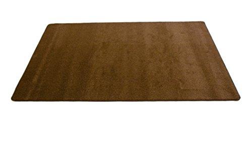 Learning Carpets Solid Bark Rectangular Rug, Large/8'5