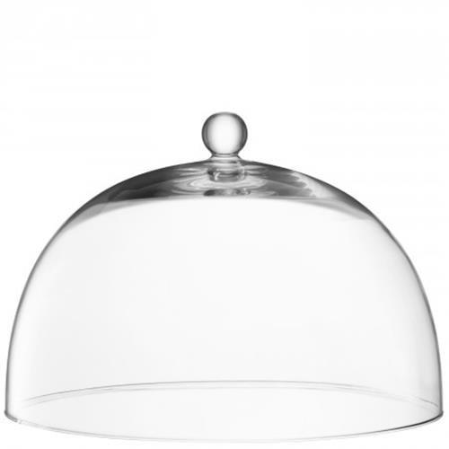 LSA International Vienna Dome, Glass, Clear, 38 cm VI10