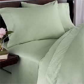 Luxurious Six (6) Piece MINT Solid / Plain, CAL KING Size, 1500 Thread Count Ultra Soft Single-Ply 100% Egyptian Cotton, Extra Deep Pocket Bed Sheet Set with FOUR (4) PILLOW CASES 1500TC (Set Mattress Product Premiere)