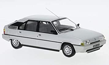 Citroen BX XB 16 TRS 5 Türer Silber Grau 1982-1994 1//43 Solido Modell Auto mit o