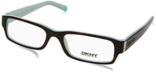 Donna Karan Frame (DKNY DY 4585B Eyeglasses Styles Havana-Azure Frame w/Non-Rx 50 mm Diameter Lenses, 3388-5017, DKNY)