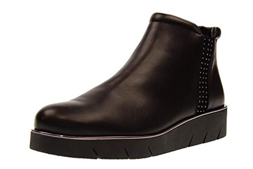 Theodor Bottines Flexx Black Wedge Chaussures Femme The 07 D2509 wF06ttq