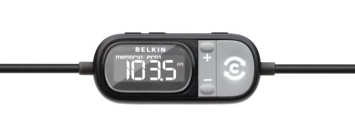Belkin TuneCast Auto ClearScan iPhone